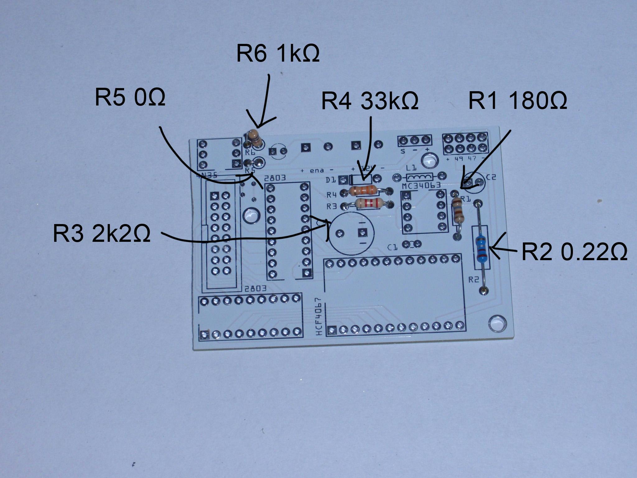 Electronics For Plan B Ytec 3d 12v Diode Relay Wiring Diagram 1 Resistors