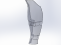 front fairing 2-3 WIP6