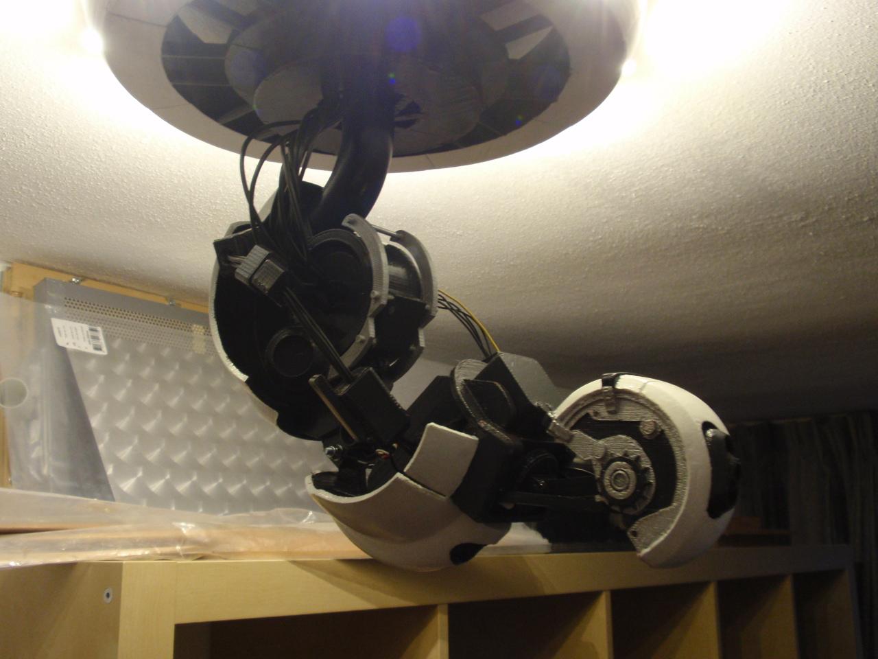 GlaDOS lamp – Ytec 3D