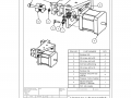 Hopper subassembly motor holder