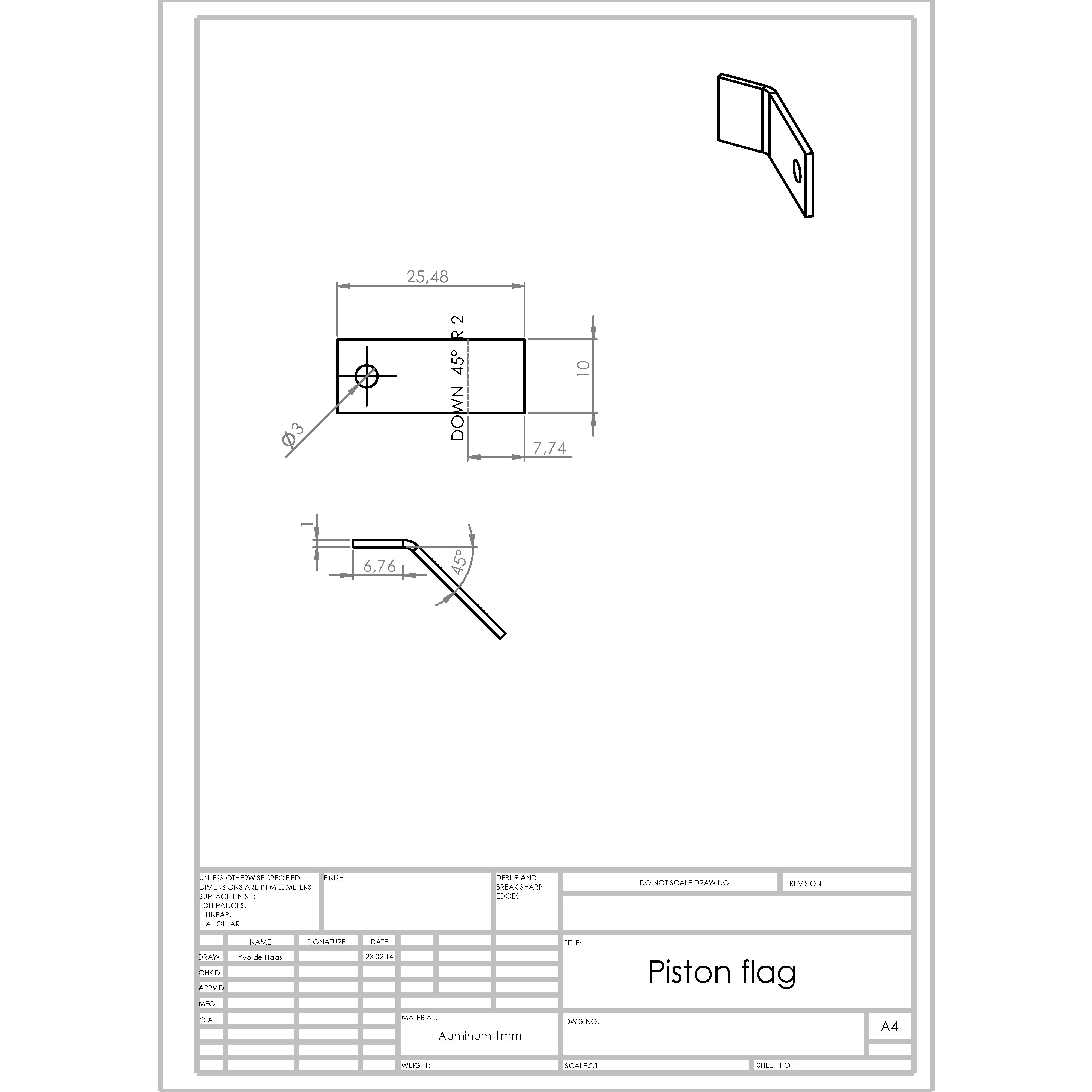 Assembling Plan B – Ytec 3D