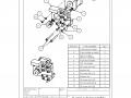 X-axis subassembly Motor holder